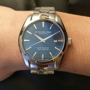 Stuhrling Original Accessories - Stuhrling Original Men's 414.33116AM Watch